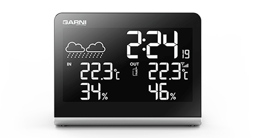 Digital alarm clocks and weather stations